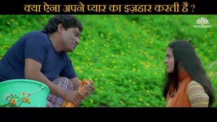 Will Aina show love affection Scene   Raju Chacha (2000)    Ajay Devgn    Rishi Kapoor   Kajol    Tiku Talsania   Smita Jaykar   Johnny Lever   Bollywood Movie Scene  