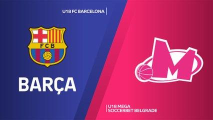 EB ANGT Finals Valencia Highlights: Barcelona 79-77 Mega