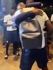 Edouard Mendy nhận được rất nhiều tình cảm từ các đồng đội Senegal