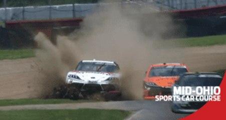 Off-track damage for Harrison Burton end Mid-Ohio chances