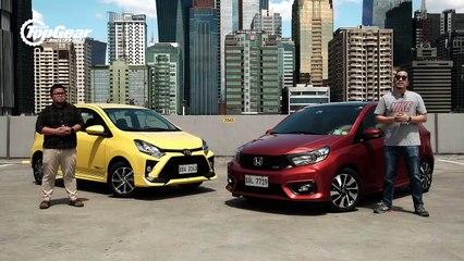 Big Test: Toyota Wigo 1.0 TRD S vs. Honda Brio 1.2 RS
