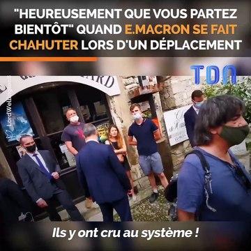 """Emmanuel Macron furieux face à un électeur mécontent : """"vous êtes tordu"""""""