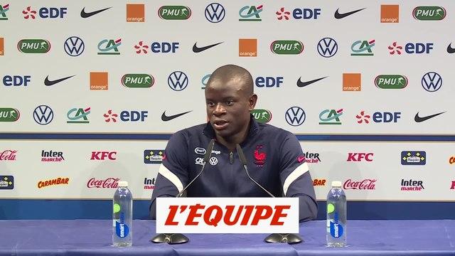 Pour Kanté, il est «prématuré» de parler de Ballon d'Or - Foot - Bleus