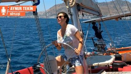 Yeşim Büber anlatıyor: 14 yıldır tek evimiz deniz