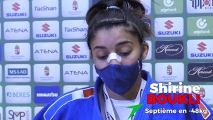 Championnats du monde seniors 2021 - Shirine Boukli : « Pas acceptable »