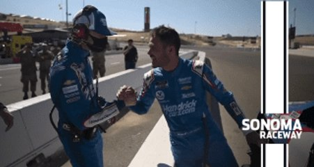 Larson after Sonoma win: 'This will always be home to me'
