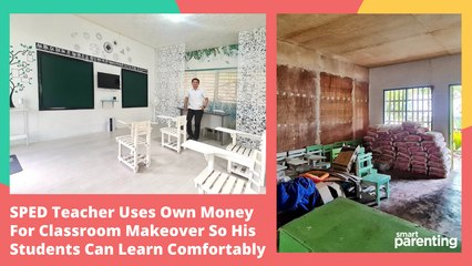 SPED Teacher Uses Own Money For Classroom Makeover So His Students Can Learn Comfortably