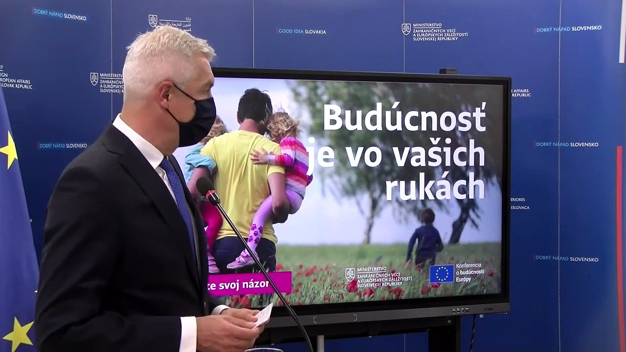 ZÁZNAM: I. Korčok a M. Klus k celonárodnej diskusii o budúcnosti EÚ