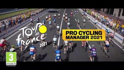 Tour de France 2021 - Le teaser du nouveau Pro Cycling Manager 2021