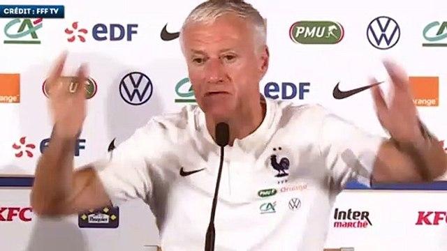Didier Deschamps s'exprime sur l'avenir de Kylian Mbappé