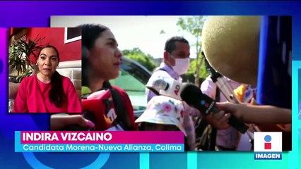 Indira Vizcaíno se convertirá en la segunda mujer gobernadora en Colima