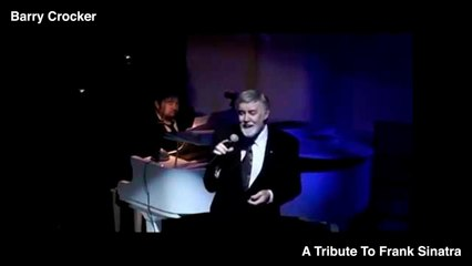 Barry Crocker - A Tribute to Frank Sinatra