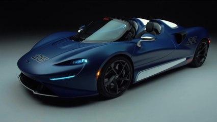 التجربة الأفضل لسيارة Roadster المكشوفة: نموذج الزجاج الأمامي من سيارة McLaren Elva الحصرية للغاية يدخل حيز الإنتاج