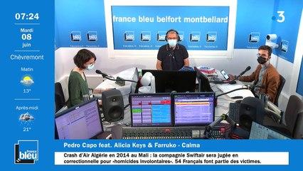 08/06/2021 - La matinale de France Bleu Belfort Montbéliard