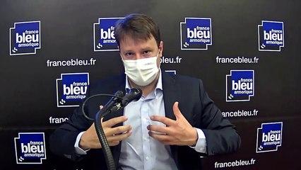 Loïg Chesnais-Girard, candidat PS et président de Région sortant