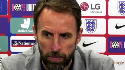 Football - Gareth Southgate press conference after England 1-0 Romania
