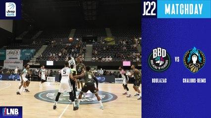 Boulazac vs. Chalons-Reims (81-70) - Résumé - 2020/21