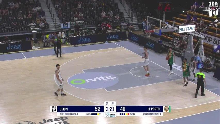 Dijon Highlights vs. Le Portel