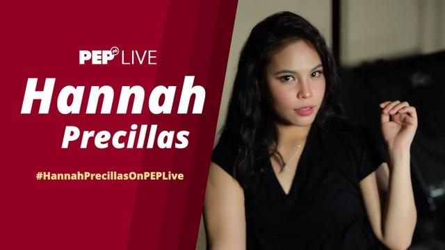 WATCH: Hannah Precillas on PEP Live!