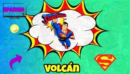 Superman Volcán (1942) Español