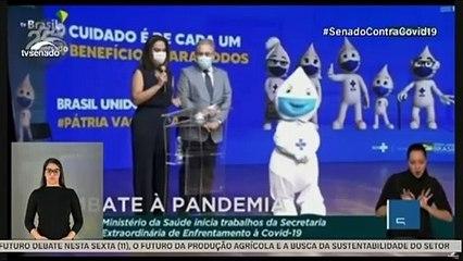 CPI DA COVID (8/6): Ministro da Sáude, Marcelo Queiroga, fala sobre doutora Luana Araújo