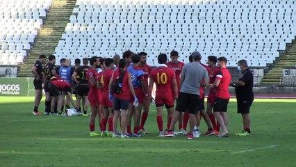 Lisbon-Leg Final - Spain v Germany | Rugby Europe 7s Championship