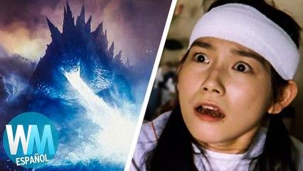¡Top 10 PEORES cosas que ha hecho Godzilla!