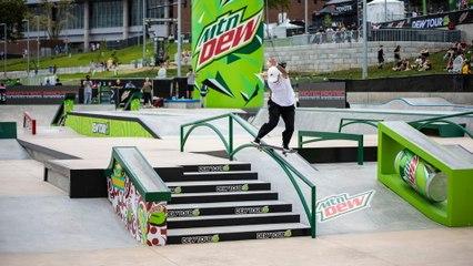Video Highlights: Best of Women's Street Skateboarding   Dew Tour Des Moines 2021