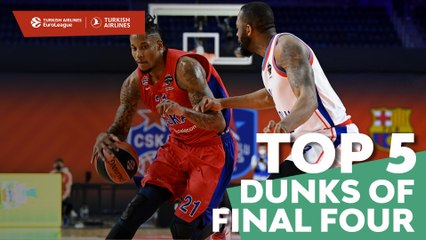 Top 5 Dunks of the Final Four!