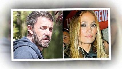 Bennifer continues to heat up! Ben couldn't hide smile as left Jennifer Lopez's