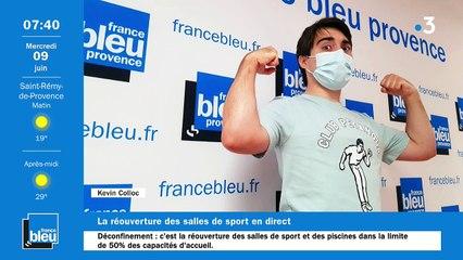 09/06/2021 - La matinale de France Bleu Provence