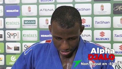 Championnats du monde seniors 2021 - Alpha Djalo : « Je me suis battu toute l'année »