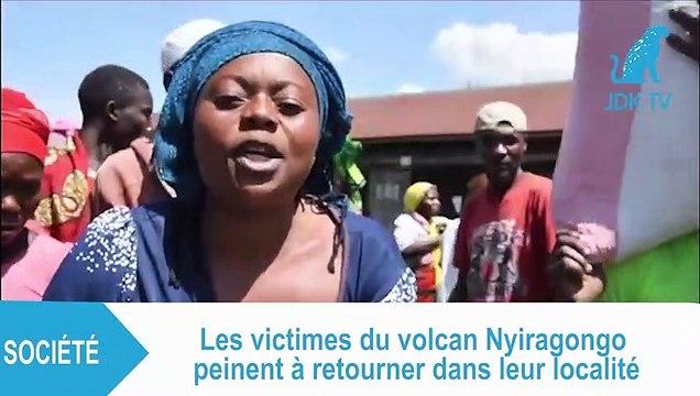 RDC : retour craintif des victimes du volcan Nyiragongo à Goma