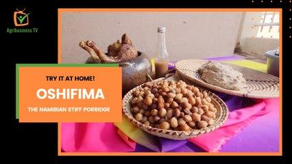 Try it at home: Oshifima , the Namibian stiff porridge