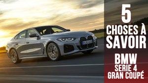 BMW Série 4 Gran Coupé, 5 choses à savoir sur la grande berline allemande
