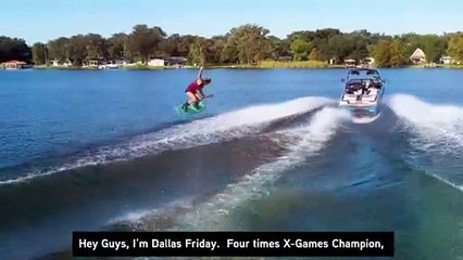 Why World Champ Dallas Friday Rides Dry and Drives Dry