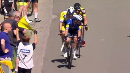 Cycling - Baloise Belgium Tour 2021 - Robbe Ghys wins stage 1