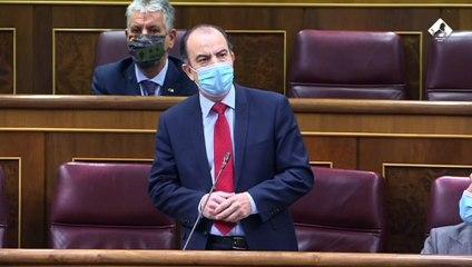 La intervención de Adanero (UPN) en el Congreso sobre los indultos del 'procés'