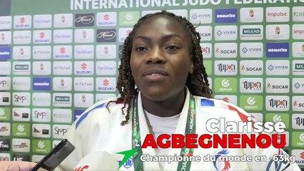 Championnats du monde seniors 2021 - Clarisse Agbegnenou : « Encore du chemin, mais je suis prête »
