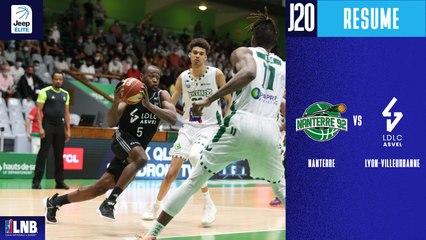 Nanterre vs. Lyon-Villeurbanne (83-101) - Résumé - 2020/21
