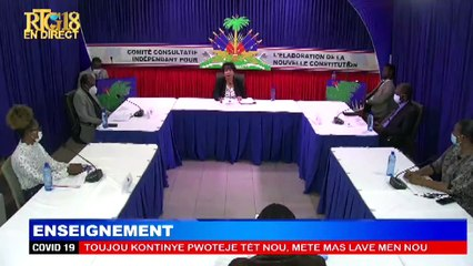 CCI:11éme série des débats sur l'Avant-projet de la nouvelle Constitution.Théme:Enseignement