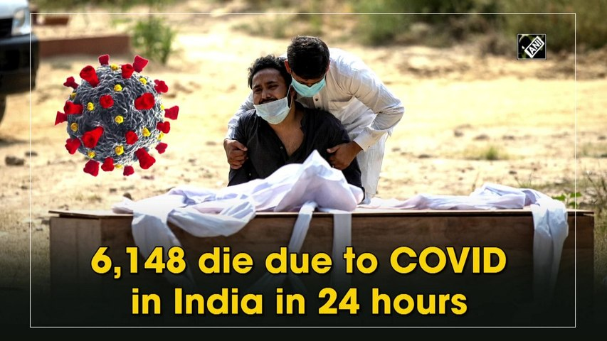 6,148 die due to Covid-19 in India in 24 hours