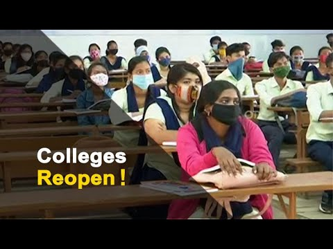 Colleges Reopen In Odisha With COVID-19 Guidelines | OTV News