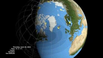 Este 10 de junio se producirá un eclipse anular de sol