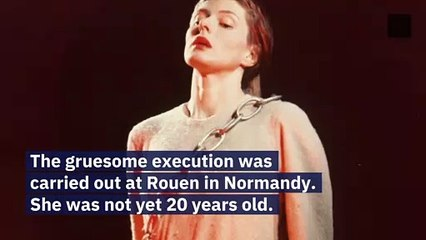 Joan of Arc Is Burned at the Stake for Heresy