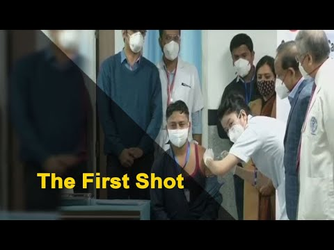 COVID-19 Vaccination Rollout: First Person Receives Jab | OTV News