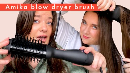 Beauty Lab tests the Amika Blow Dryer Brush