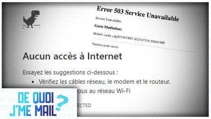 Panne internet mondiale : ce qui s'est passé DQJMM (2/2)
