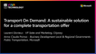 16th June - 10h30-10h50 - FR_FR - Transport On Demand: a sustainable solution for a complete transportation offer - VIVATECHNOLOGY