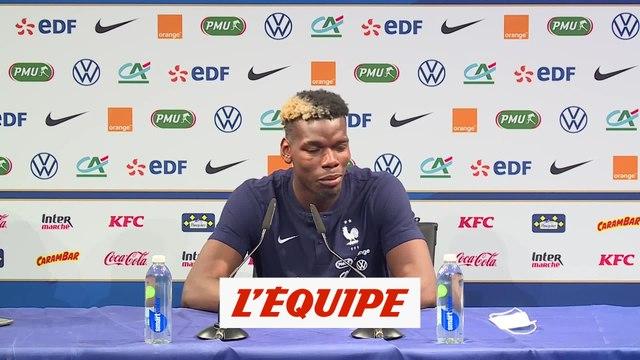 Pogba : «Je ne sens pas de tensions»  - Foot - Bleus